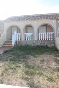 This is a two bed one bath unfurnished middle bungalow.