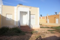This is a two bed one bath unfurnished quad bungalow.