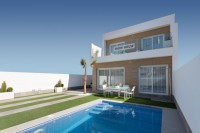 *NEW BUILDS*DETACHED VILLAS WITH MODERN AND ADVANT-GARDE DESIGN