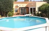155, semi detached villa with pool close the sea