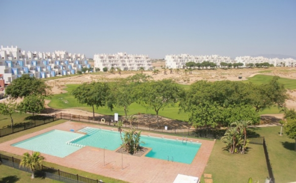 fabulous penthouse apartment on a wonderful golf course.