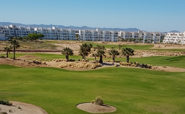 fabulous penthouse on a wonderful golf course.